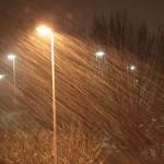 Braunschweig im Schneetreiben