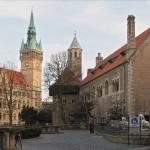 Braunschweiger Rathaus mit Burg