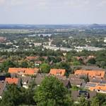 Blick über Salzgitter Lichtenberg und Lebenstedt