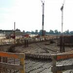 Baustelle am Bahnhof Juli
