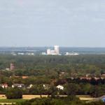 Cargill vom Burgberg aus fotografiert